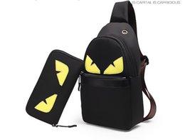 Discount little backpacks for girls - Little Monster FF Designer Messenger Bag Belt Crossbody Bag Oxford Shoulder Chest Bag For Women Men Sport Beach Storage
