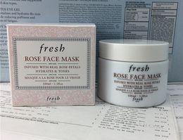 $enCountryForm.capitalKeyWord Australia - 2019 New Fresh Rose Face Mask Moisturizing Facial Skin Care Sleeping Mask Cream 100ml DHL Fast shipping