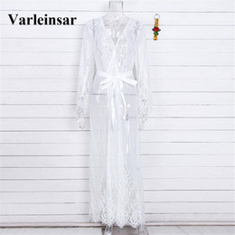 074872316c9 ElEgant bEachwEar online shopping - 2019 Sexy White Crochet Lace Tunic  Beach Cover Up Elegant Cover