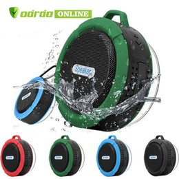 $enCountryForm.capitalKeyWord Australia - Bluetooth Speaker C6 IPX7 Outdoor Sports Portable Waterproof Wireless Suction Cup Handsfre Stereo Player for IOS Android Device