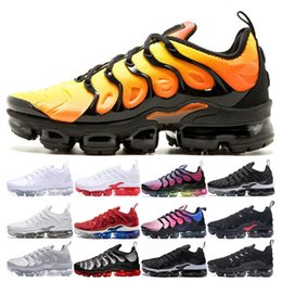 Wholesale Fashion SUNSET Plus Running Shoes Men Women BE TRUE Grape Black white Cool Grey White red Zebra triple white sport traine
