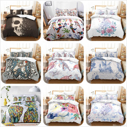 $enCountryForm.capitalKeyWord NZ - 3Pcs Duvet Cover Set Home Microfiber Fabric Animal Print Printed 2019 Sale Luxury Bedding Set Twin Queen King Duvet Covers