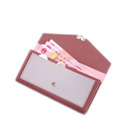 hasp wallet purse UK - New Women's Wallet Korean Fashion Zip Coin Purse Long Style Leather Fringe Bag Classic Multicolor Clutch