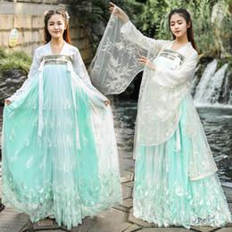 $enCountryForm.capitalKeyWord Australia - Oriental Traditional Fairy Princess Dance Dress Chinese Folk Dance Costume Women Hanfu Dresses Tang Dynasty Cos Clothing DWY1918
