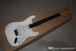 Custom Shop Ebony Fingerboard Australia - Free shipping 2014 Guitar Factory F White Custom Shop Electric Guitar Ebony Fingerboard