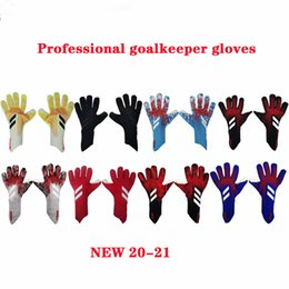Опт размер 8 9 10 бренд профессиональных вратарей Перчатки латексные Футбол Вратарские Футбол Luvas Guantes