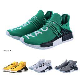 166afa143 Wholesale human race womens Running shoes for men NMD Pharrell Williams x  Hu Trial Solar Pack NERD Holi India athletic sports mens sneaker