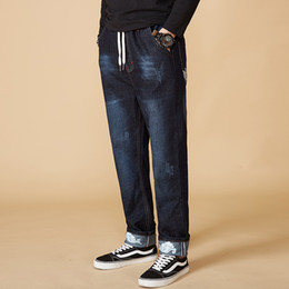 $enCountryForm.capitalKeyWord Australia - High Quality Large Big Size M-8XL Jeans Men Casual Denim Harem Pants Men's Fashion Slim Stretch Denim Trousers Homme Biker Jeans