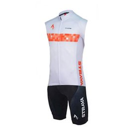 cycling jersey skinsuit Australia - STRAVA Triathlon Suit High Quality Cycling Skinsuit Maillot Ropa sleeveless Ciclismo Men's Cycling Jersey Pro Bike Clothing 9D Pad