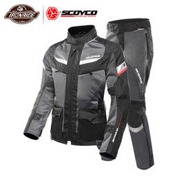 $enCountryForm.capitalKeyWord Australia - SCOYCO Motorcycle Jacket Summer Chaqueta Moto Riding Jacket Breathable Motobiker Motocross Racing Jacke Protection Bdy Amor