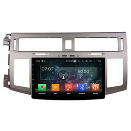 Discount toyota touch screen car 4GB+64GB Android 8.0 Car Audio DVD Player Car DVD for Toyota Avalon 2008-2012 Car Stereo Radio GPS Bluetooth WIFI USB DV