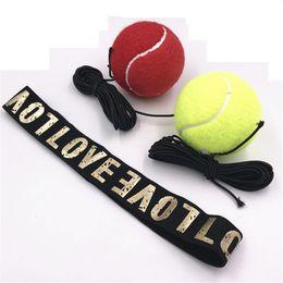 Sport Tennis Boxing Training Reflex Speed Ball Head Band Practice Speedballs Hot