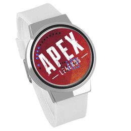 ElEctronics gamEs online shopping - Apex Legends shooting big escape game peripheral touch LED waterproof electronic watch for children s gift V071