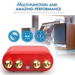 $enCountryForm.capitalKeyWord NZ - Hot HiFi Mini Bluetooth 5.0 HiFi Power Amplifier Class D Tpa3116 Digital Amp USB Sound Card AUX 50W*2 Home Audio