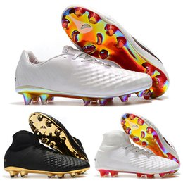 Magista Boots Size NZ - Mens High Ankle Football Boots Superfly Magista Obra II Elite FG Soccer Shoes Original Magista Opus II FG ACC Soccer Cleats