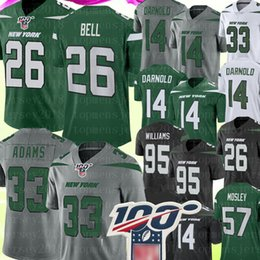 L beLL online shopping - New York Jets Jamal Adams Jersey Le Veon Bell Sam Darnold Jersey Quinnen Williams C J Mosley Joe Namath Jerseys