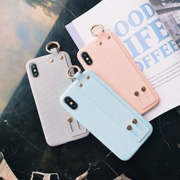 Candies Cases Australia - One Piece luxury designer phone cases iphone xr For iphone 8 X XSMAX Textile Design Fashion iphone 7 case retail shipping candy color