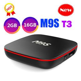 $enCountryForm.capitalKeyWord Australia - New M9S T3 Allwinner H3 Android TV Box 2GB 16GB Quad Core 100M Lan 2.4G WiFi 4K VP9 HDR10 IPTV Android Smart media player BETTER TX6 T95Q T9