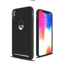 $enCountryForm.capitalKeyWord NZ - Slim TPU Desigh Card Slot Holder for X Case for Iphone X Cover, Black Pink Yellow Dark Blue Light And Blue
