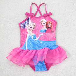 $enCountryForm.capitalKeyWord Australia - New 2018 One Piece Girls Swimwear Children Cartoon Swimsuit For Baby Kids Swim Skirt Bathing Suit Beachwear