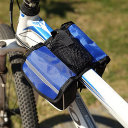 $enCountryForm.capitalKeyWord NZ - Bicycle Bike Top Frame Front Pannier Tube Bag Cycling Double Pouch Holder With Water Bottle Bag Mountain Bike Accessories #257376
