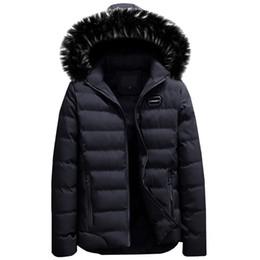 $enCountryForm.capitalKeyWord Australia - DAVYDAISY 2019 Fashion Winter Jacket Men Casual Warm Hooded Fur Collar Parka Coat Men Down Brand Clothing Casual Parka DCT-236