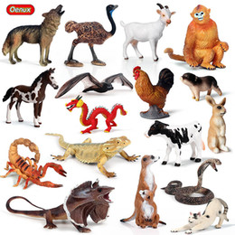 $enCountryForm.capitalKeyWord Australia - Action & Toy Figures Oenux Forest Animals Lizard Bat Snake Action Figure Farm Hen Cow Pig Cat Horse Model Figurines Miniature Collection