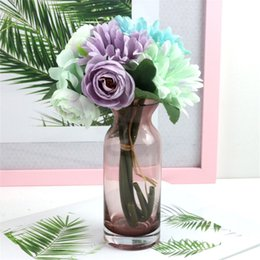 gerbera accessories Australia - 1 Bouquet Silk Artificial Flower Gerbera Daisy Fake Flower for Wedding Home Accessories Decoration Room Decor Arrangement
