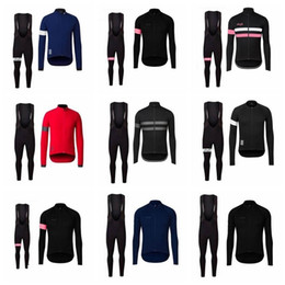 $enCountryForm.capitalKeyWord NZ - Rapha Cycling Long Sleeves Jersey Bib Pants Sets Men S Spring And Autumn Outdoor Windproof Breathable Luck Riding Suit S51121
