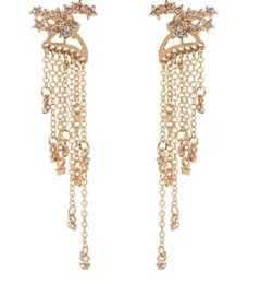 $enCountryForm.capitalKeyWord UK - 2019 new Girl eardrop Female long earrings fashion accessories after shining stars tassel hanging delicate earrings hot style