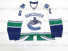 0cb88ef34a0 Cheap custom Brock Boeser VANCOUVER CANUCKS AWAY TEAM ISSUED JERSEY stitch  add any number any name Mens Hockey Jersey XS-5XL