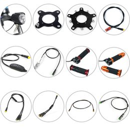Wholesale BAFANG Motor Parts Gear Sensor Display Extension Cable USB Programming Cable Y-Splitter Brake Gearsensor Twist Throttle 6V Light