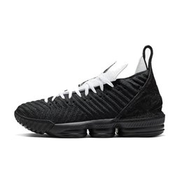 $enCountryForm.capitalKeyWord UK - Mens lebron 16 basketball shoes for sale Four Horsemen Black White Glows Orange Martin MPLS new lebrons sneakers boots with box size 7 12
