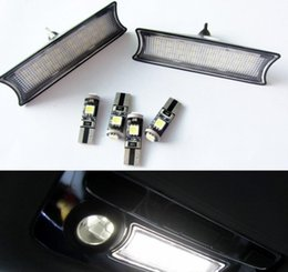 lighting ceiling lights Australia - White 24 LED Light Car Interior Roof Dome Ceiling Lamp Bulb For BMW E90 E91 E92 3-SERIES 2006-2011 Reading Light Car-styling