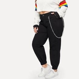 $enCountryForm.capitalKeyWord Australia - Autumn Black Pencil Pants C Women Black Skinny Leggings High Waist Pockets Back Slim Thin Trousers Students Fitness Female Pants