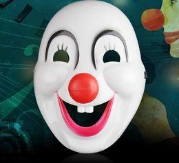 $enCountryForm.capitalKeyWord Australia - Mask clown train fashion face masquerade Halloween party white ball adult children cartoon anime dress up prop