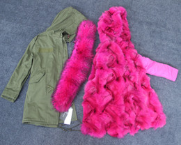 $enCountryForm.capitalKeyWord Canada - removable thick fox fur Liner Long parkas for women hooded with Large Raccoon fur collar classic green jacket Sweden pälskappa