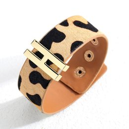 $enCountryForm.capitalKeyWord NZ - Horse-hair Bracelet popular European and American leopard-print ladies jewelry noble fashion women's Bracelet