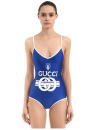 Yaz Kadın Bikini G Harfleri ile Set Yeni Marka Kadınlar için mayo Mayo Tek parça Suit Seksi Backless Beachwear S-XL Moda