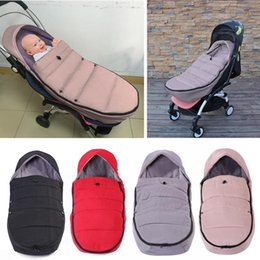sleeping wrap NZ - Baby Stroller Sleeping Bag Design of Side Bidirectional Zipper Winter Warm Outdoor Newborn Wheelchair Envelope Wrap