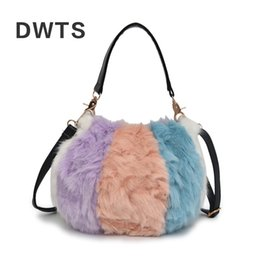 Designer Bags for Women 2019 Brand Mini Small Fur Shoulder Bag Luxury Fox  Plush Luxury Handbags Women Bags Designer Bolsa Feminina e160d4cc265d7