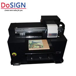 Wood Metal Plastic Australia - A3 desktop small size uv printer for acrylic metal glass wood plastic printing