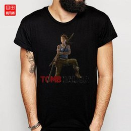 Wholesale tomb raider online – design Tomb Raider Transparent T Shirt