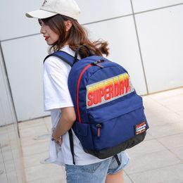 Discount high luxury bags - New Brand School Bag Designer Backpack Luxury Zipper Bag Brand Strings Printed Bags High Quality Backpack for Men
