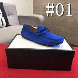 $enCountryForm.capitalKeyWord Australia - 19ss Brand Fashion Summer Style Soft Moccasins Men Loafers High Quality Genuine Leather Shoes Men Flats Gommino Driving Shoes