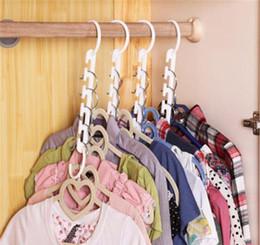 Hanger Clothes Save Space Australia - Magic Clothes Hanger 3D Space Saving Clothing Racks Closet Organizer with Hook