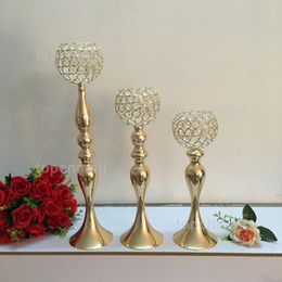 Products Fast Australia - product elegant Tall metal and crystal candelabra centerpieces wedding gold , silver candelabra decoration fast shipping