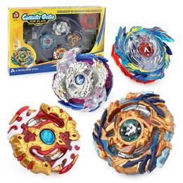 BeyBlade wholesale online shopping - New Boxed bayblade Beyblade Burst D Set With Launcher and Arena Metal Fight Battle Fusion Classic Toys With Original Box