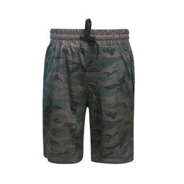 Jogger Zipper Australia - Fashion new arrival pants Men's Zipper Pocket Casual Elastic Camo Harem Training Jogger Sport Short Pants W307