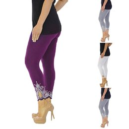 $enCountryForm.capitalKeyWord Australia - Seamless Leggings Yoga Pants Polyester Elastic Waist Sport Yoga Print Sexy Push Up Mid Waist Running Fitness Elastic Leggings